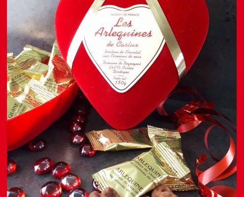 boite coeur saint valentin